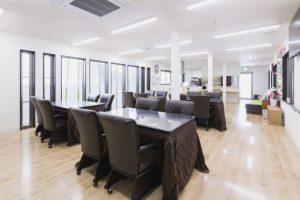 デイサービス月のうさぎ機能訓練室兼食堂