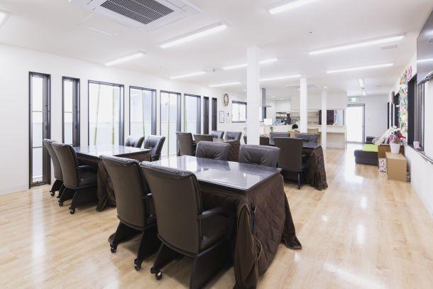 月のうさぎ食堂兼機能訓練室